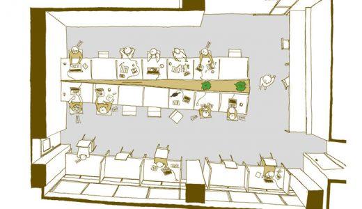 姫路市コワーキングスペースmoccoが集中専用スペースを増設するリニューアルプロジェクトに伴いクラウドファンディングを開始
