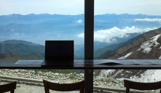 雲の上でテレワーク、日本一標高の高いホテルに「ワーキングスペース」を特別開設